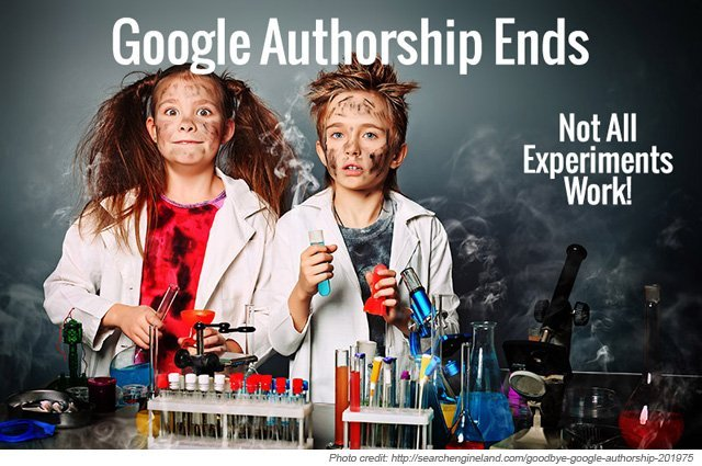 Goodbye, Google Authorship