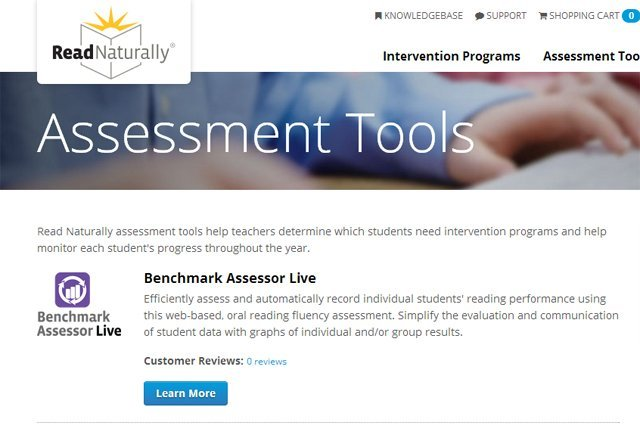Assessment Tools Page
