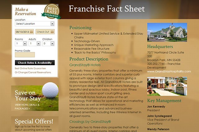 Franchise Opportunities Page