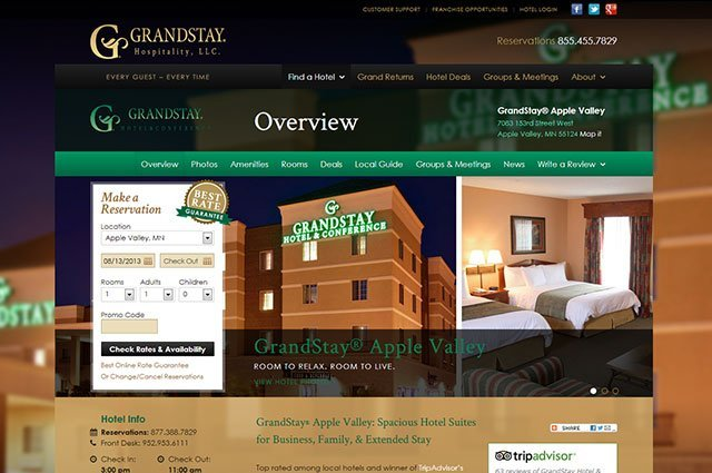 Individual Hotel - Overview Page