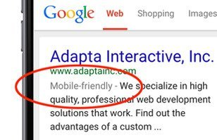 Google's Mobile-Friendly Update