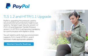 PayPal Security Upgrades