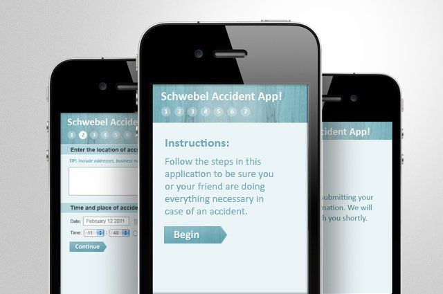 """Accident App"" (Mobile Site)"